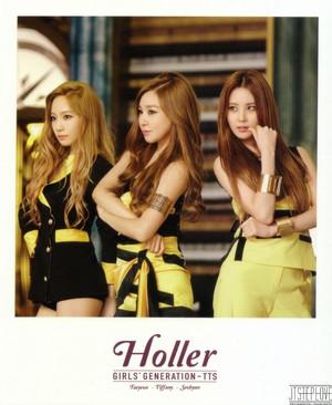 TaeTiSeo Taeyeon- Holler Polaroids