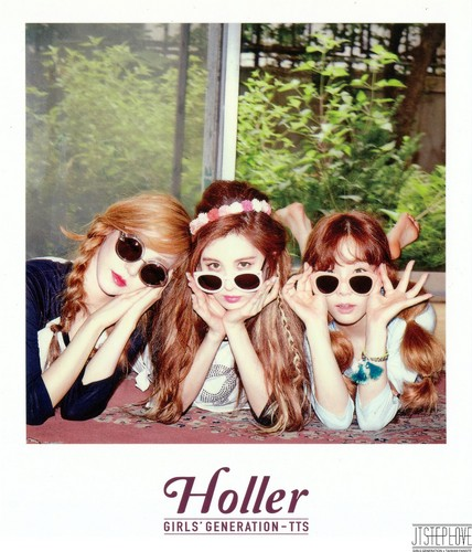 taeyeon (snsd) wallpaper with sunglasses called TaeTiSeo Taeyeon- Holler Polaroids