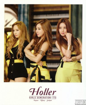 TaeTiSeo Tiffany- Holler Polaroids