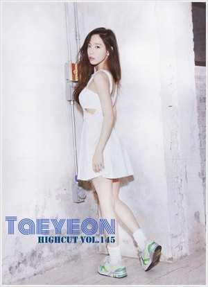 Taeyeon - High Cut Vol.145