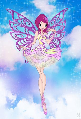 The Winx Club wallpaper titled Tecna Butterflyix