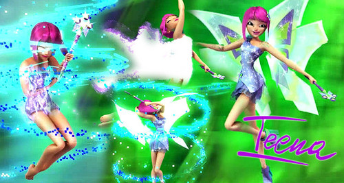 The Winx Club wallpaper entitled Tecna Mythix