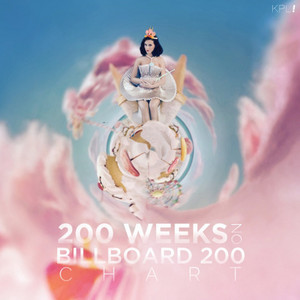 Teenage Dream album celebrates its milestone 200th week on the Billboard 200 chart
