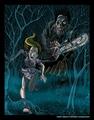 Texas Chainsaw - horror-movies fan art