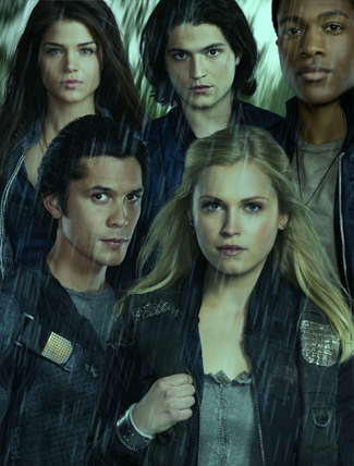 The 100 wallpaper possibly containing a portrait called The 100 (TV Show)