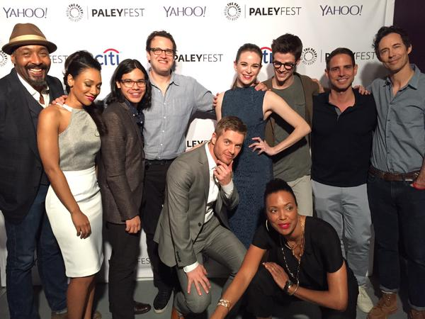 The Flash Cast - PaleyFest 2015 - The Flash (CW) Photo