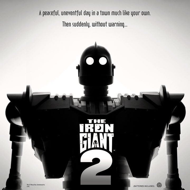 The Iron Giant 2 Fanmade Concept Art