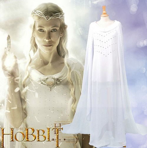 반지의 제왕 바탕화면 possibly with a mantilla, a mantelet, and a negligee called The Lord of the Rings Royal Elf Galadriel cosplay Costume