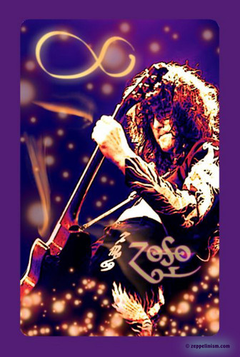 Led Zeppelin wallpaper possibly containing a concert entitled The Magician