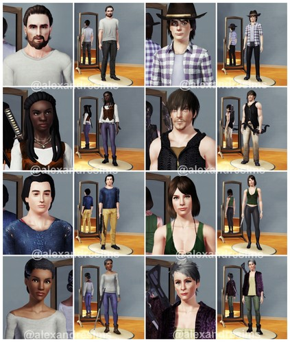 The Walking dead wallpaper called The Sims 3 - The Walking Dead