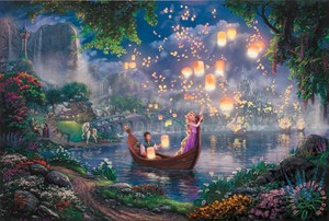 Thomas Kinkade Tangled Painting
