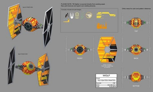 Star Wars Rebels Wallpaper Called Tie Fighter Painted Concept Art