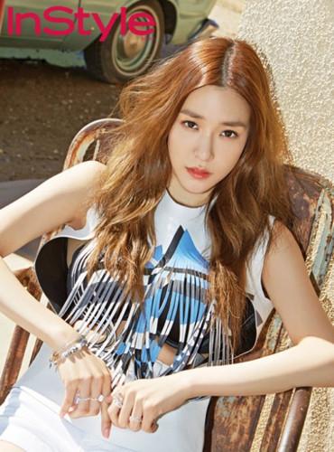 Tiffany Hwang fondo de pantalla with a portrait called Tiffany - InStyle Magazine
