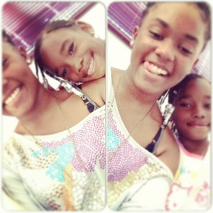 Tika and nie nie sisters for life
