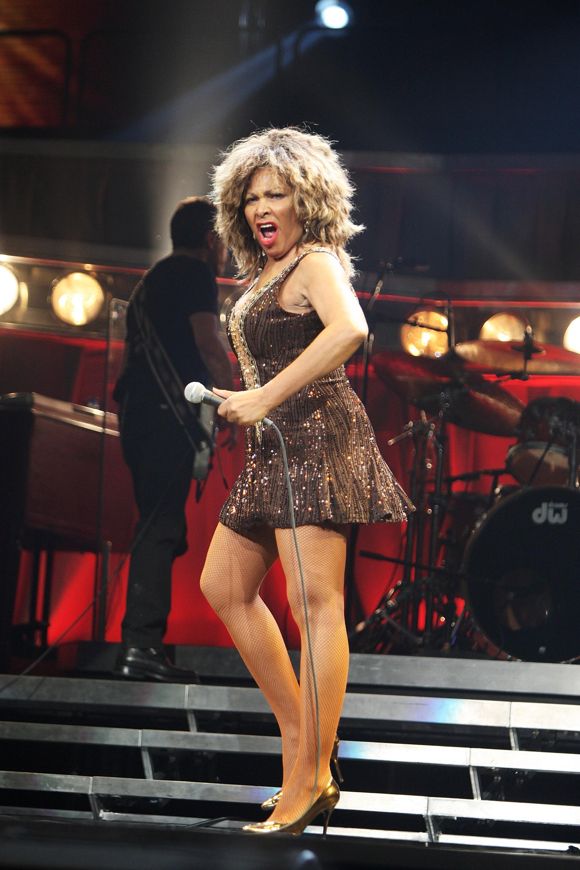 Tina Turner concert foto