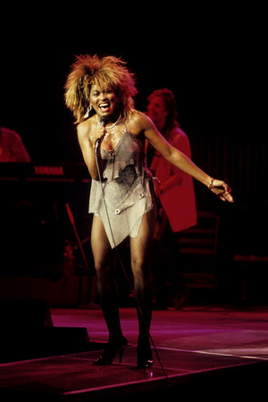Tina Turner concert photo