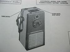 Tom Thumb Camera Radio combo