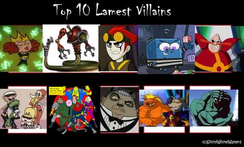 hoạt hình hình nền containing anime titled hàng đầu, đầu trang 10 Lamest Villains