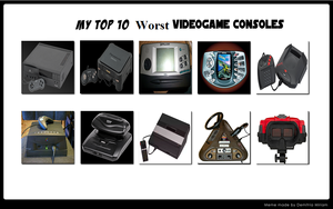 oben, nach oben 10 Worst Video Game Consoles
