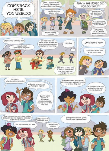 トータルドラマアイランド 壁紙 probably containing アニメ entitled Total Drama Kids Comic: Page 32