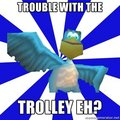 Trouble with the trolley, eh? - spyro-the-dragon photo