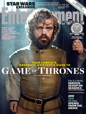Tyrion Lannister -EW Cover