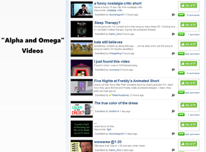 Videos Section