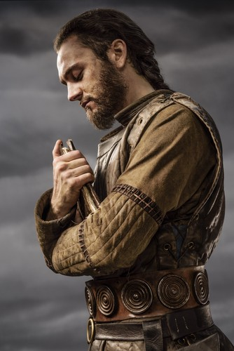 Vikings (TV Series) پیپر وال called Vikings Athelstan Season 3 Official Picture