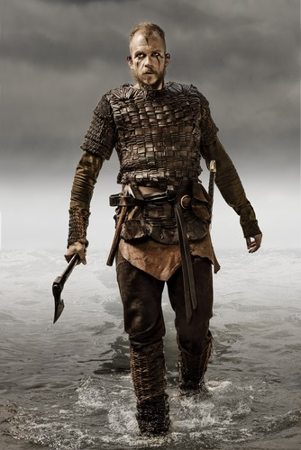 Vikings (TV Series) wallpaper possibly with a navy seal, a rifleman, and a green beret entitled Vikings Floki Season 3 Official Picture