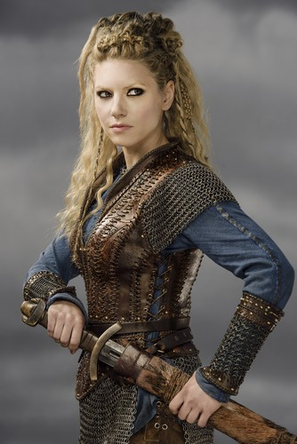 Vikings (TV Series) karatasi la kupamba ukuta probably containing an armor plate, a breastplate, and a dirii, brigandine entitled Vikings Lagertha Season 3 Official Picture