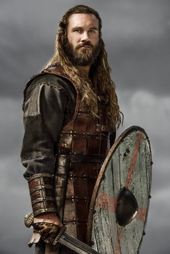 Vikings (TV Series) پیپر وال possibly with a shield entitled Vikings Rollo Season 3 Official Picture