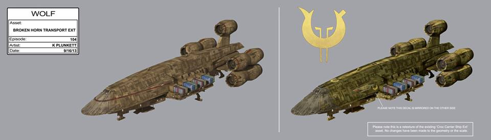 Vizago's Ship Concept Art - Star Wars Rebels Photo (38215130