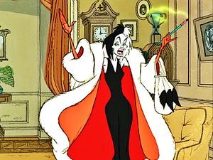 Walt ディズニー Screencaps - Cruella De Vil