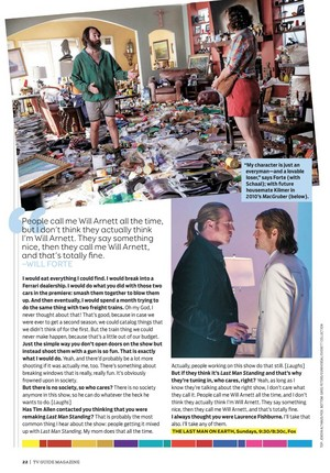 Will Forte Interview in TV Guide - March 2015