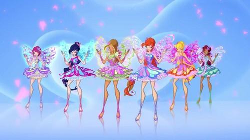 Winx Club Hintergrund called Winx Club Butterflyix