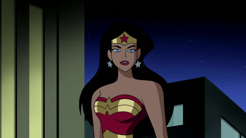 heroínas de caricaturas de la infancia fondo de pantalla called Wonder Woman Animated