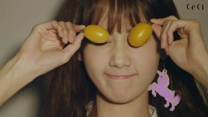 Yoona - CeCi April 2015 Photoshoot BTS