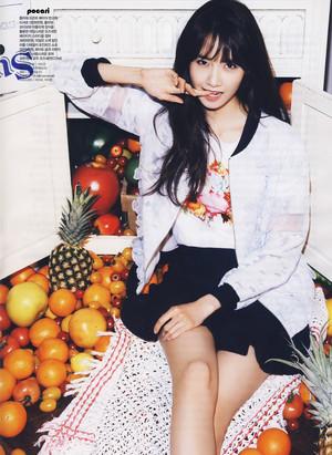 Yoona - CeCi April 2015