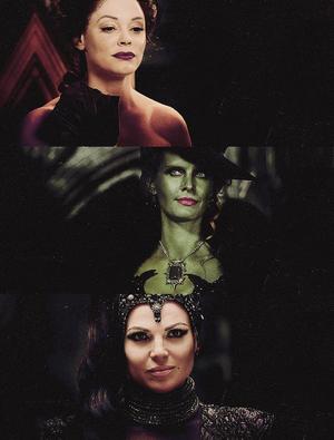 Zelena, Regina and Cora
