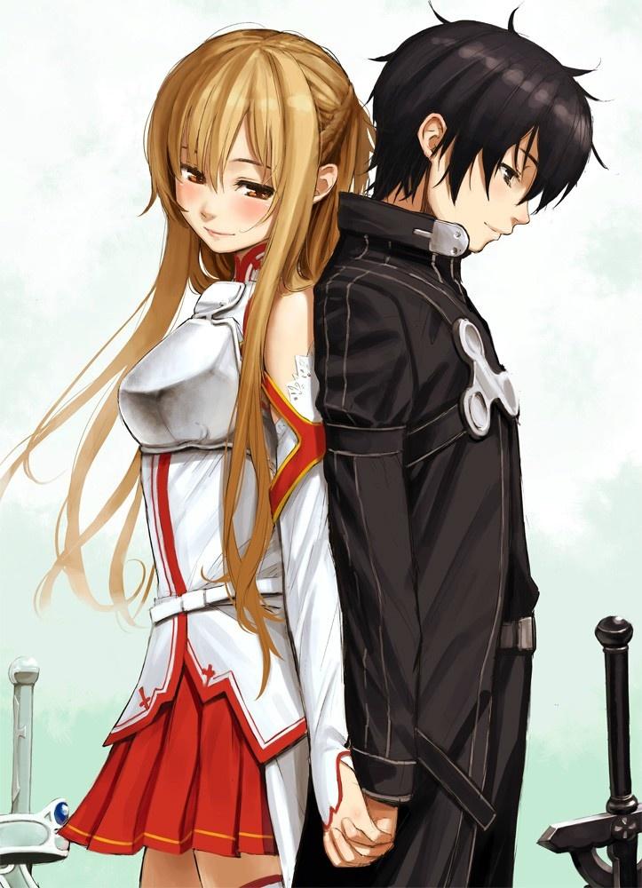 Asuna sword art online photo 38245579 fanpop - Image manga couple ...