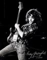 autographed Rory Gallagher 사진