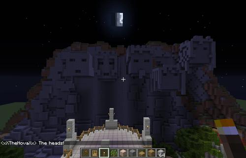 Minecrat Hintergrund called build number 8