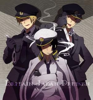 Hetalia Axis Powers - Incapacitalia 2p