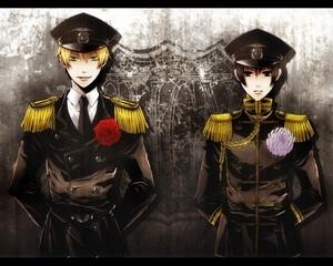 Hetalia Axis Powers - Incapacitalia Giappone x england