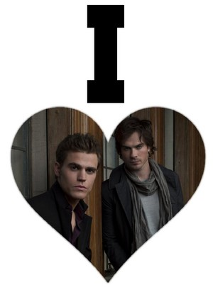 i heart stefan and damon