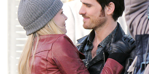 jen and colin filming 4x20 on march 3