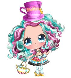 kawaii madeline hatter