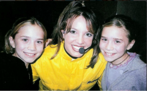 mary-kate and ashley with britney spears