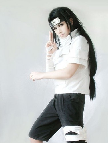 naruto cosplaying and what not images neji huga. Black Bedroom Furniture Sets. Home Design Ideas