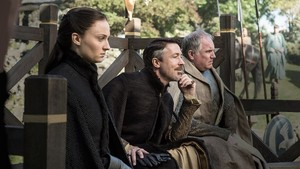 sansa and petyr baelish and john royce